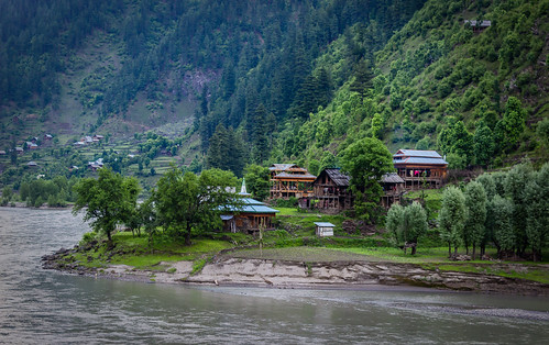 travel blue pakistan light sunset summer mountain cold art beautiful architecture clouds river twilight fine culture valley kashmir kel jammu ajk azad neelum keran sharda kishanganga taobat