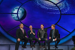 Michael Fassbender and James McAvoy, Conan Live - ConanCon… | Flickr