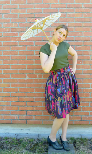 Clémence Skirt and a Hemlock Tee Hack | by Jagged Rose