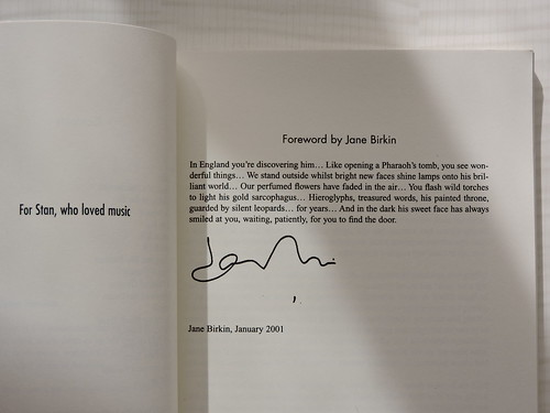 Foreword by Jane Birkin | by 8:40am
