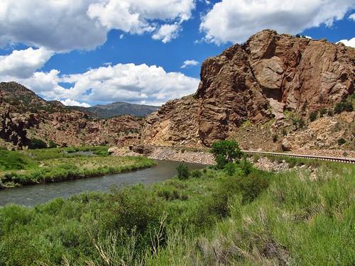 canoncity colorado roadtrip landscape scenery us50 arkansasriver river