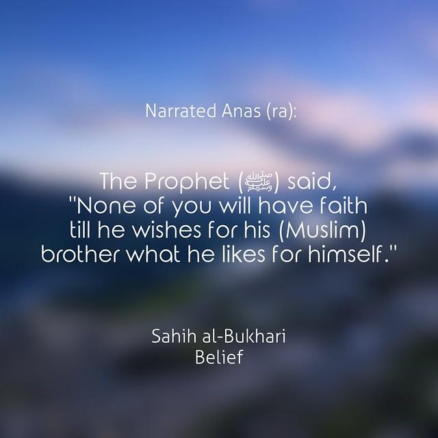 Sahih Bukhari Belief