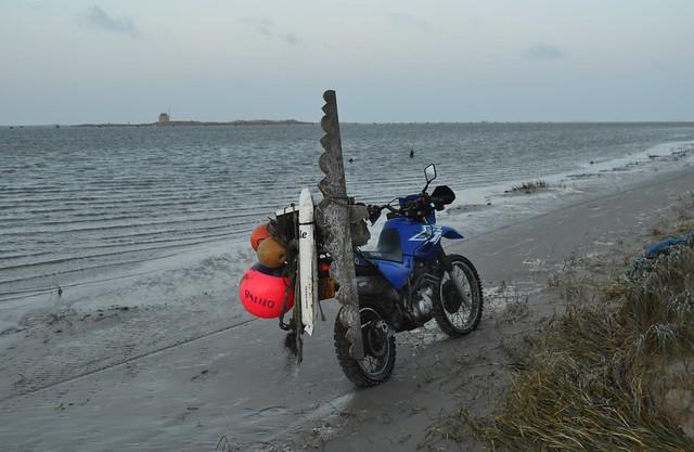 Vlieland - Vliehors - noordwestenwind