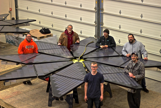 Solar Energy Technology at NWTC