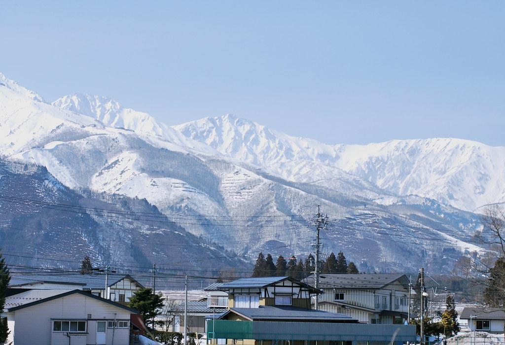 snowcapped mountain range II
