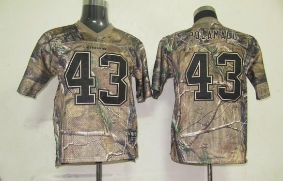 ec85173b Reebok NFL Jerseys Pittsburgh Steelers 43 Troy Polamalu Ca…   Flickr