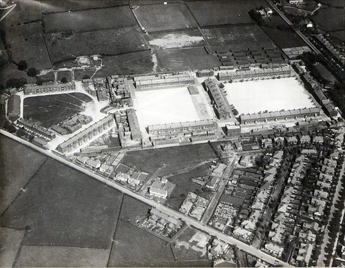 Fulwood Barracks / Fulwood Hall Lane / Watling Street Road, Preston. Aerial Image | by Preston Digital Archive