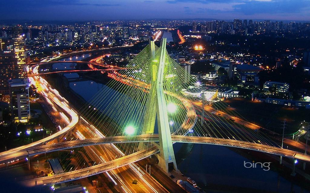 Ponte Estaiada Oct 225 Vio Frias De Oliveira Bridge In S 227 O Pau