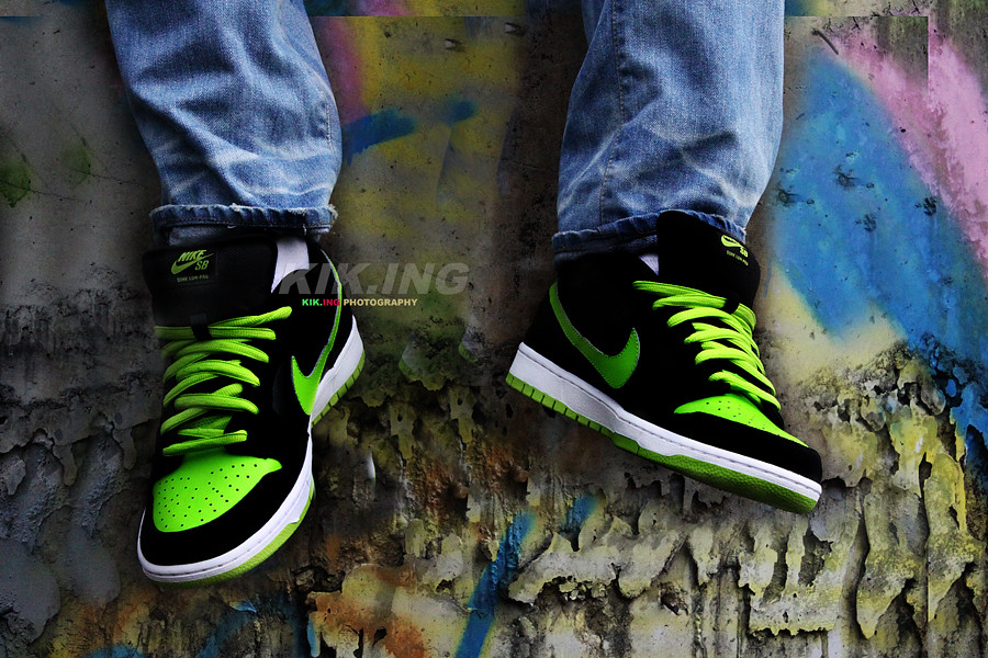 official photos dc114 704e9 ... Nike SB Dunk Low Pro  Neon  J-Pack    by Bronxco