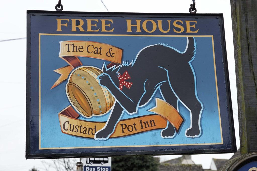 Cat & Custard Pot Inn, Shipton Moyne (a)
