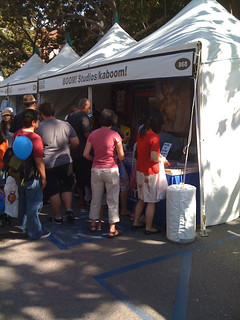 Boom! Studios/kaboom! booth at LA Times Festival of Books | by Corey Blake