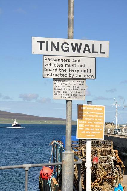 Tingwall & ferry