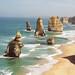 Shipwreck Coast – 12 Apostles, ten vpředu se zhroutil v roce 2005, foto: Mirka Baštová