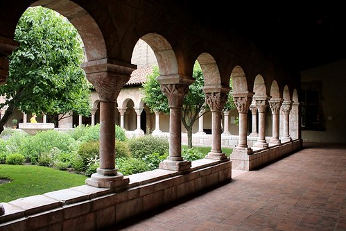 outside at the cloisters | by damselfly58