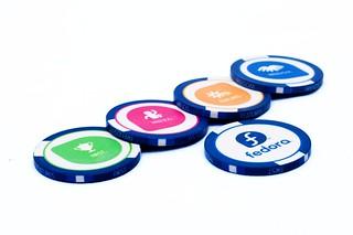 Fedora Poker Chips #3