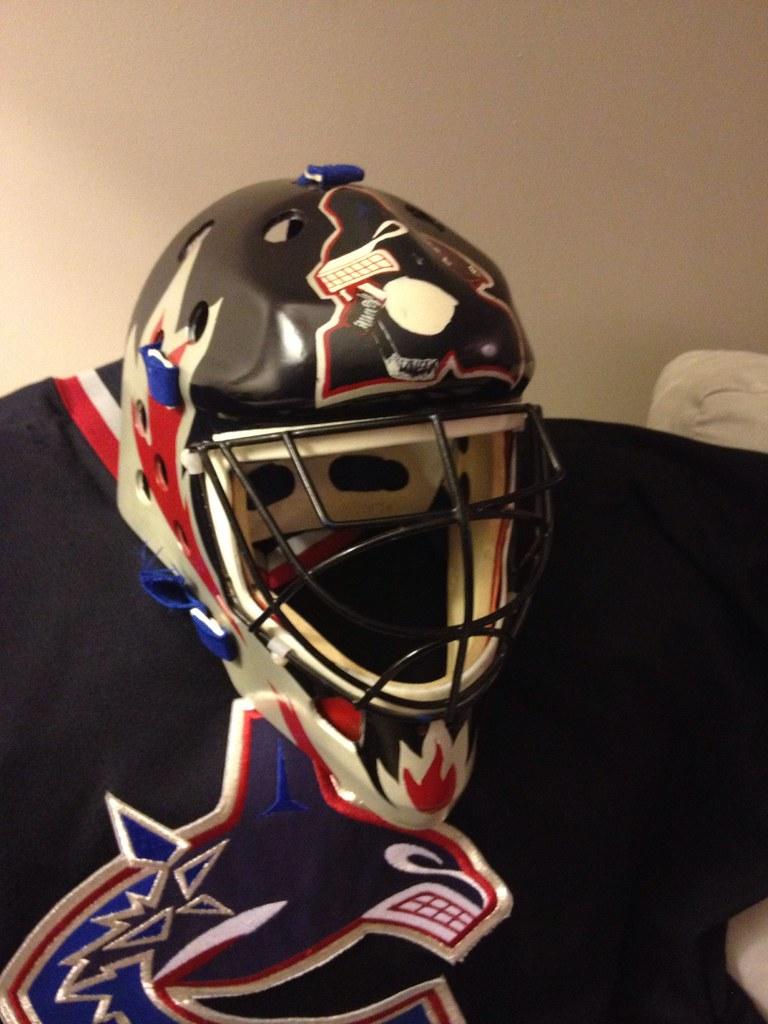 Koho Street Ball Hockey Goalie Mask Martin Brodeur Ins Flickr