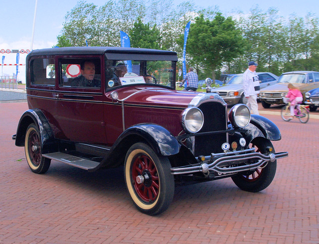1928 Willys Knight Model 56 Coach