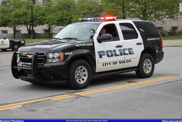 Solon Ohio Police Chevrolet Tahoe