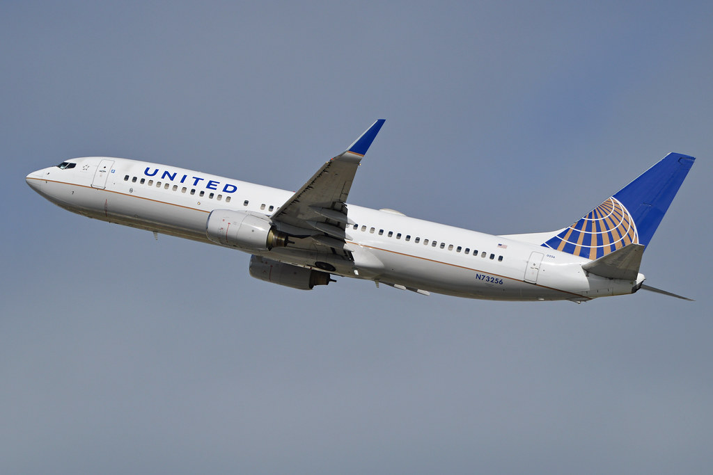 Boeing 737-824(w) 'N73256' United Airlines