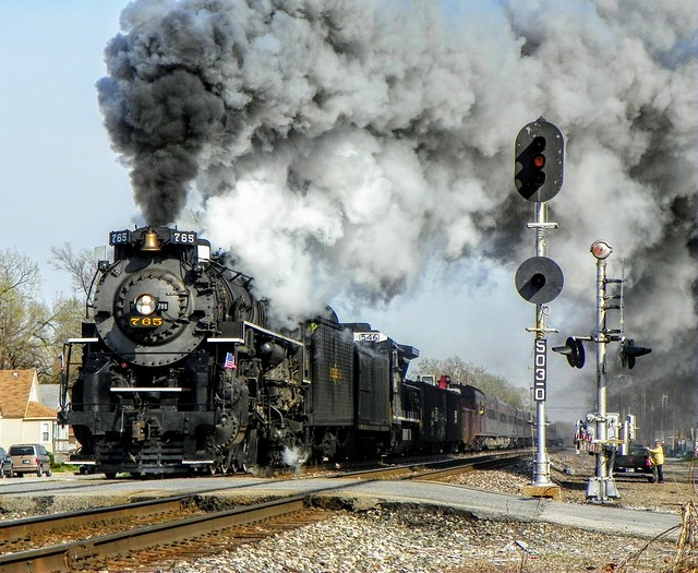Passing On Home Rails