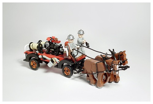 SZPD (Timber Works Sędziszów) horse fire engine, Poland, 1958-1960