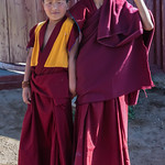 Two Awesome Trainee Monks