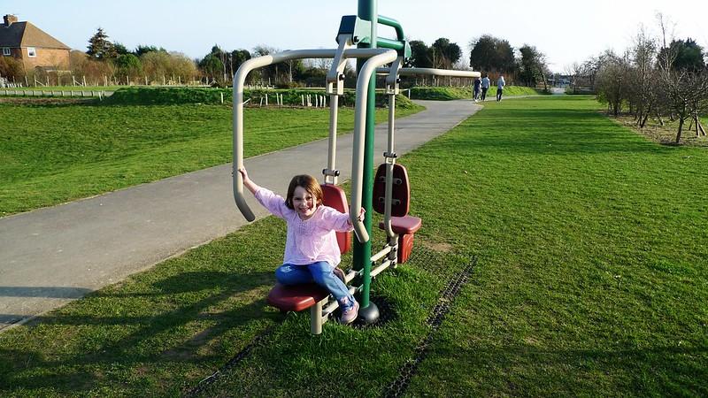 Poppy Exercising