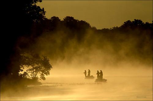 mist boats dawn arkansas russellville bassfishing lakedardanelle zormsk