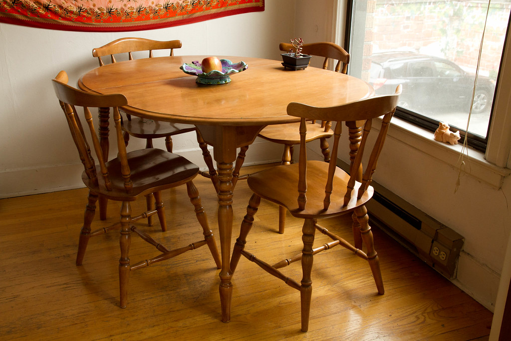 For Sale $100: Maple kitchen table and 4 chairs | Helen Cook ...