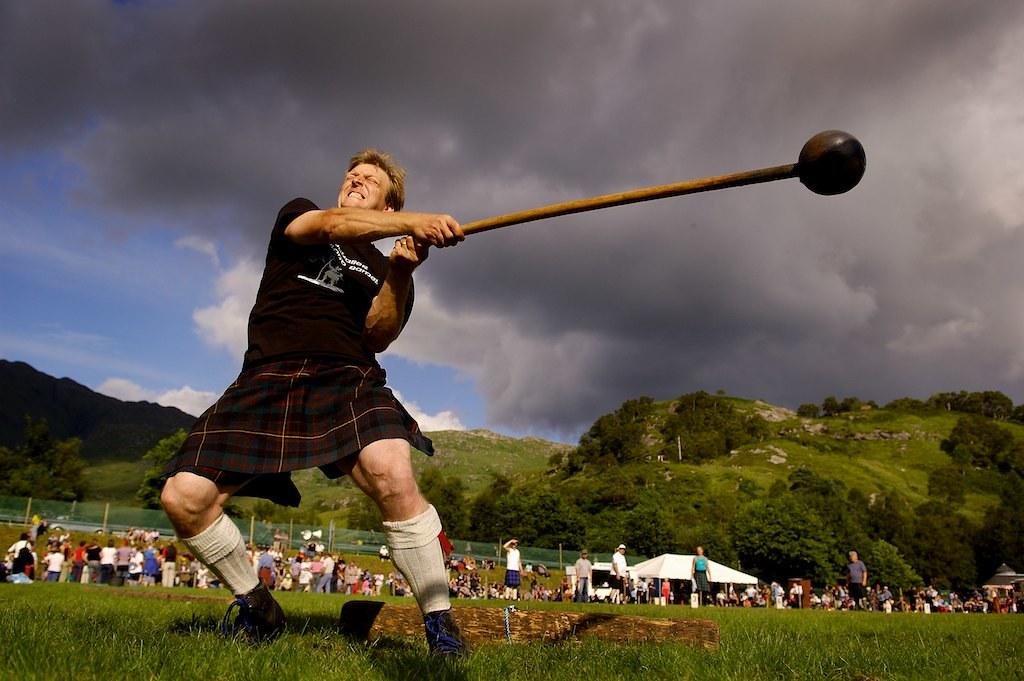 Glenfinnan Gathering, Scotland