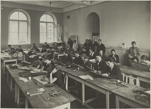 Drawing class | by Aalto University Library and Archive Commons