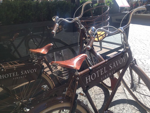 Sustainable practices at hotels sees bicycles being offered to guest for their use to sightsee around the locality