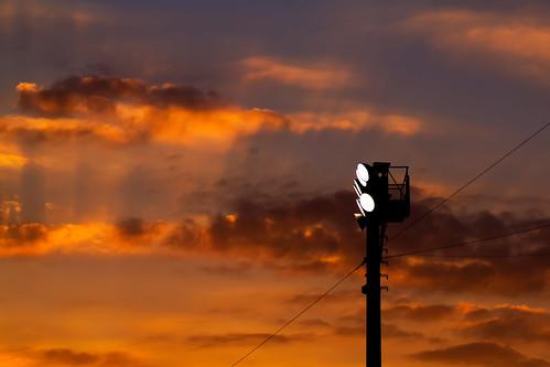 sunset usa clouds canon lights football florida stadium underthelights bartow canoneosrebelt1i canonef100mmf28lmacroisusm
