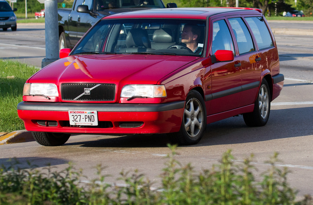 Red Volvo V70 Station Wagon Tor Flickr