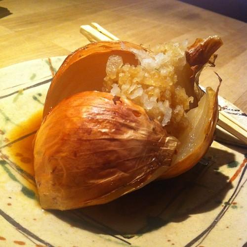 焼野菜 玉ねぎ 鬼おろしポン酢 #dinner | by is_kyoto_jp