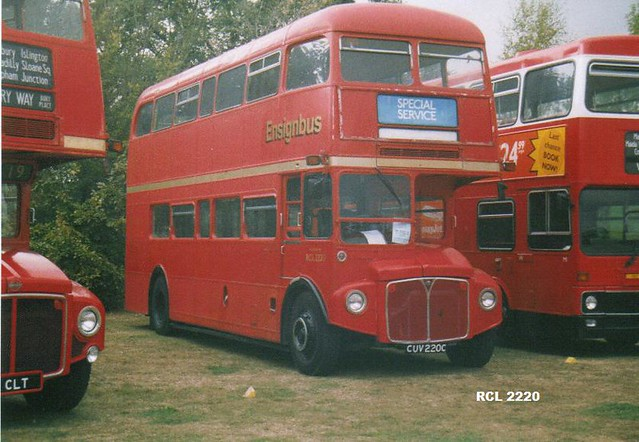 RCL 2220, CUV 220C, AEC Routemaster, Park Royal body CO36-29RD, 1965