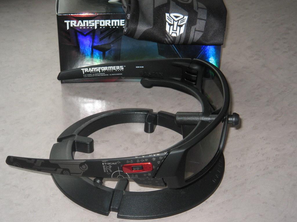 db1e3087df3f5 ... Oakley Gascan® Matte Black w HDO-3D™ ed Transformers
