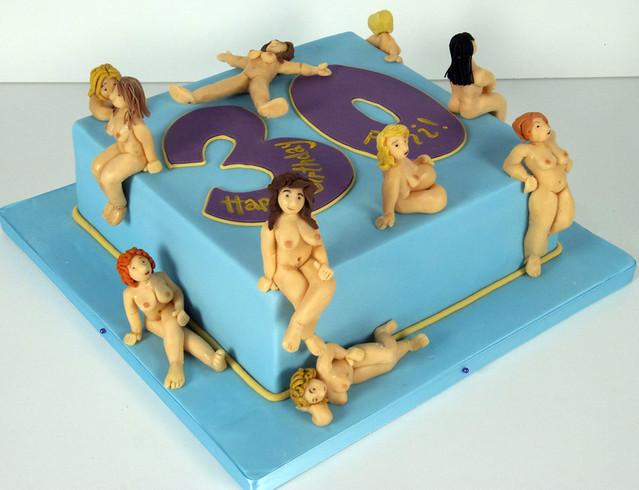 BC4018 - naked lady cake toronto