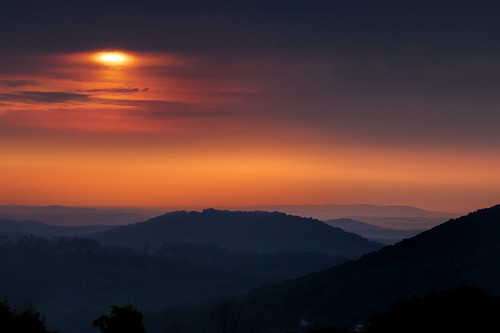 morning mountains clouds sunrise dawn glow pennsylvania valley blueridgesummit colormorning