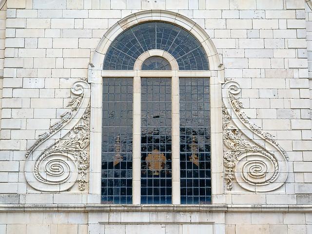 Church of Saint Mary the Virgin, Aldermanbury, in Fulton, Missouri, USA - window