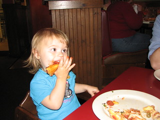 A little pizza
