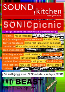 SOUNDkitchne SONICpicnic | by hellocatfood