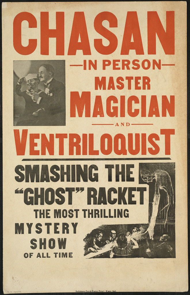 Chasan, in person : Master magician and ventriloquist