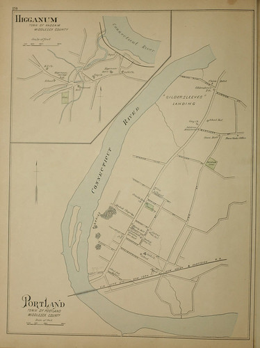 Page 246 of Town and city atlas of the State of Connecticut. / Compiled from government surveys, county records and personal investigations | by uconnlibrarymagic
