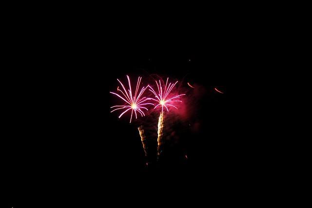 Hungington Beach Fireworks.