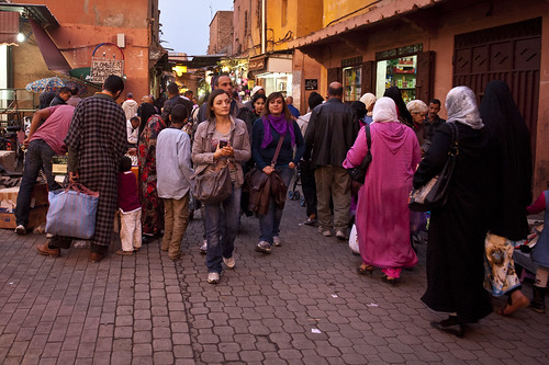 Street scene in Marrakesh | by World Bank Photo Collection
