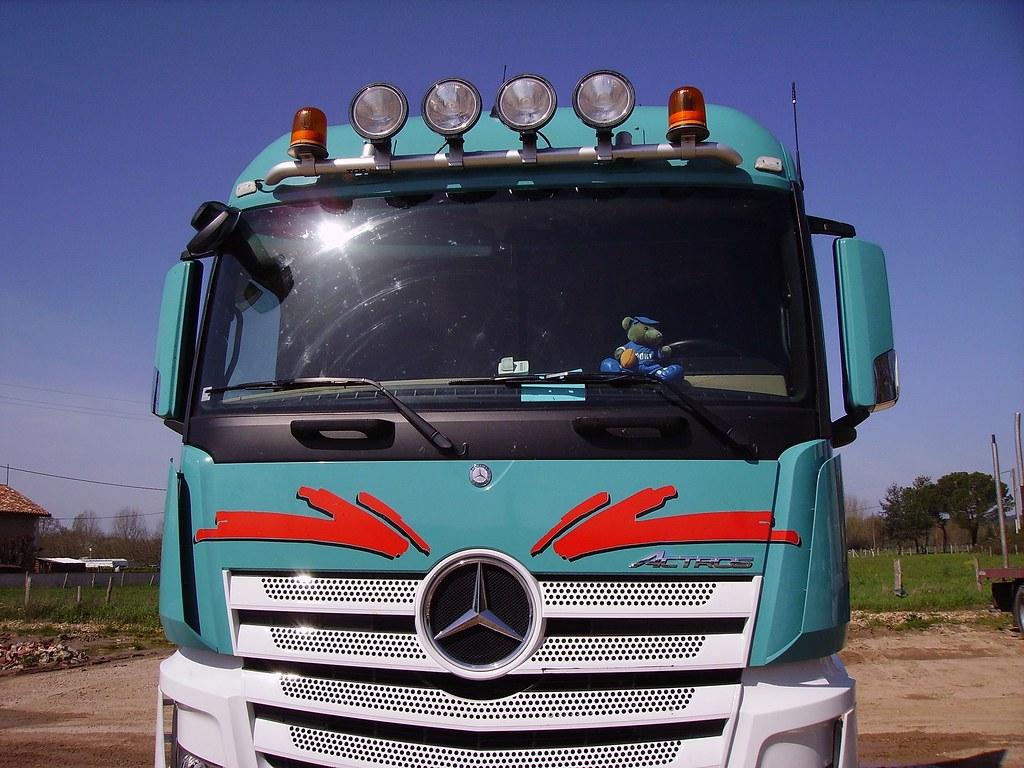 Mercedes-Benz Actros 1845 BlueEfficiency Power - front