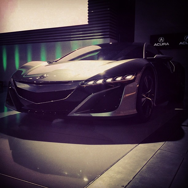 The Acura NSX At The 2012 New York