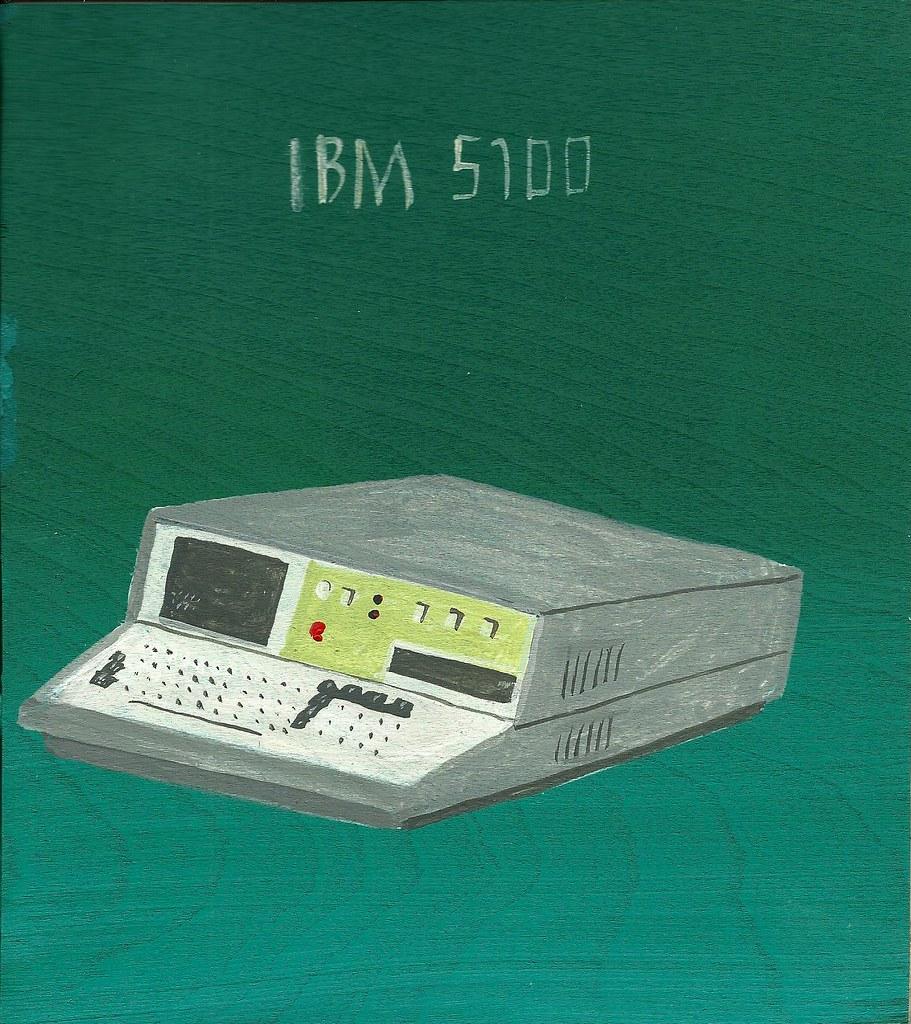 IBM 5100 | Javier Mayoral | Flickr