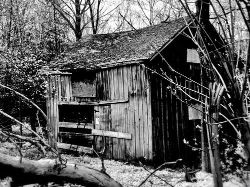 Old shed, Alton
